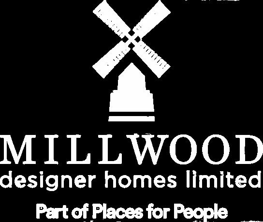 millwood designer homes white logo
