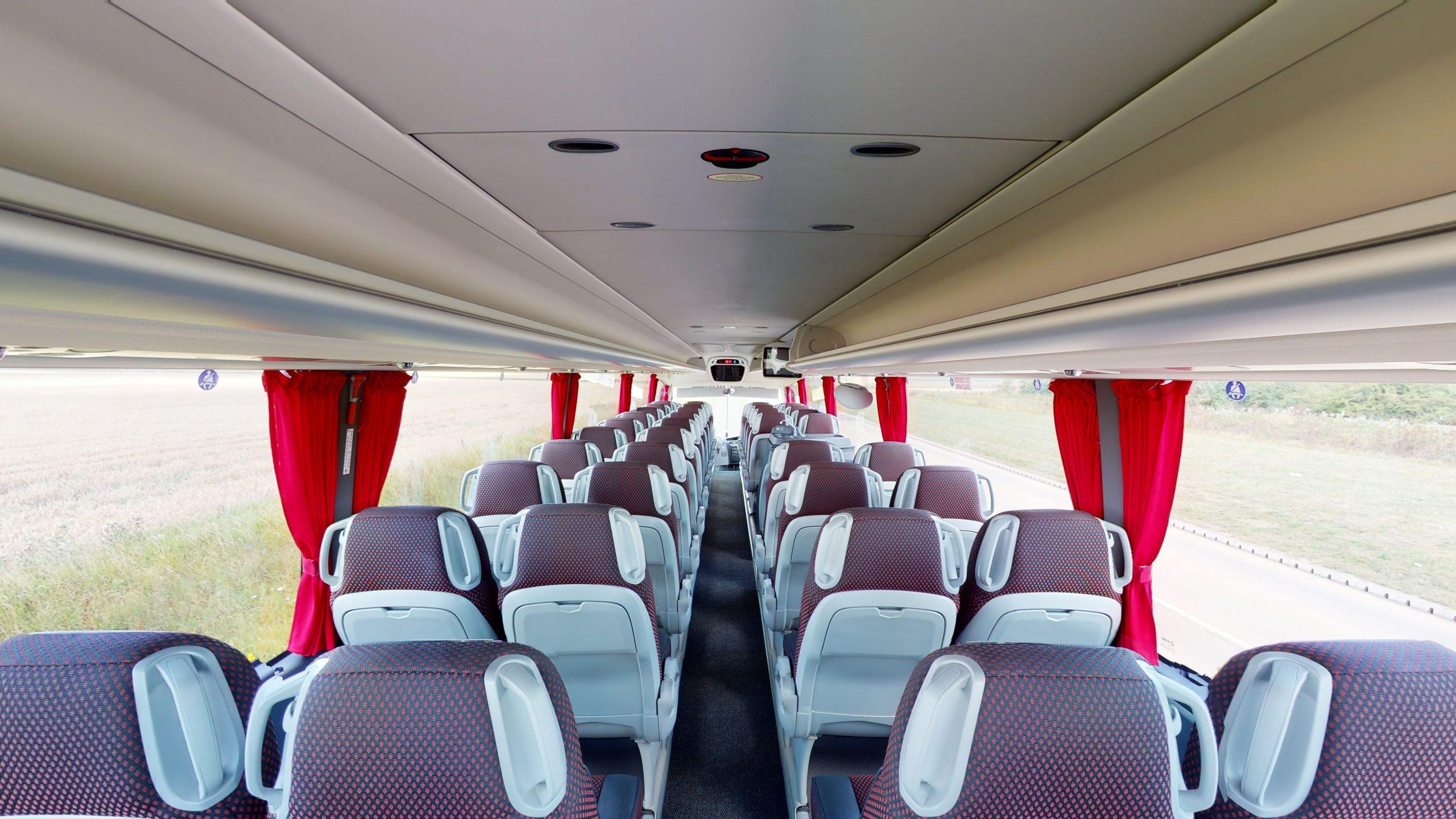 farleigh coaches 53 seater coach